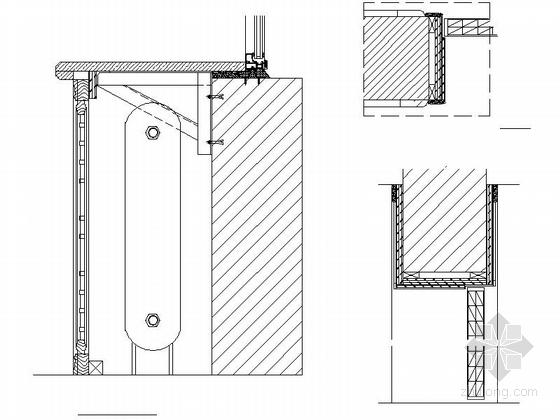 [内蒙古]首家四星级假日商务酒店CAD室内装修施工图(含效果)大样图