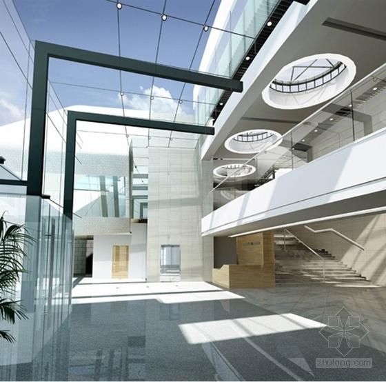 综合性现代风格训练基地室内设计方案