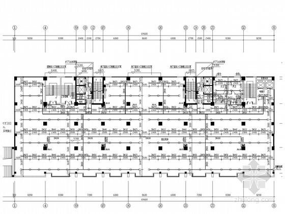 [湖南]一类高层商住楼给排水消防施工图(自动喷淋系统)