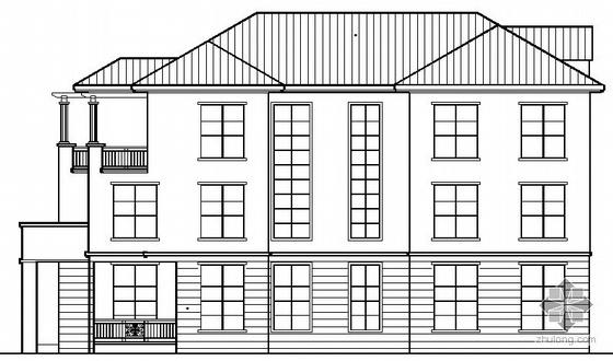 某三層中式住宅別墅建筑結構水電施工圖