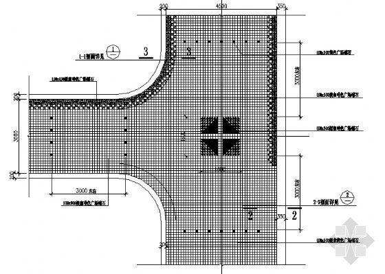 园路铺装平面图