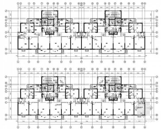 [江苏]小区高层住宅楼电气施工图全套图纸1133张