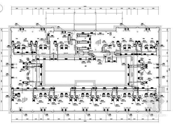 [湖南]五层办公楼空调通风及防排烟系统设计施工图
