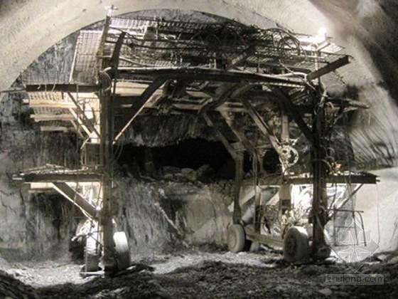 隧道工程施工组织设计(预留核心土 自进式锚杆)
