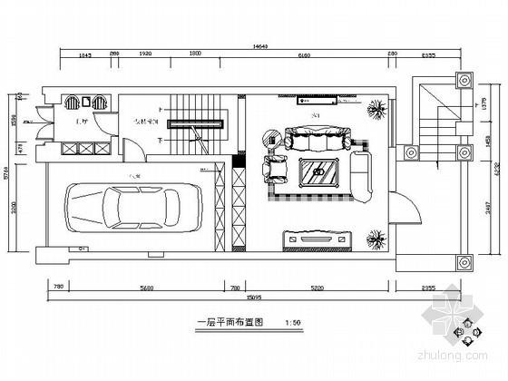精品现代简约三层别墅室内装修设计图(含效果)