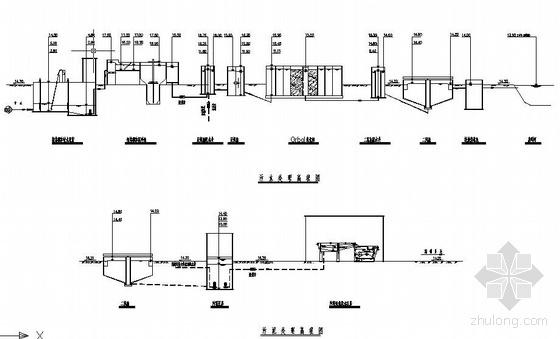 污水厂全套设计图纸