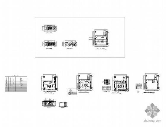 品牌服装店设计图纸