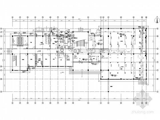 ups设计图纸资料下载-中央控制室暖通空调设计图纸
