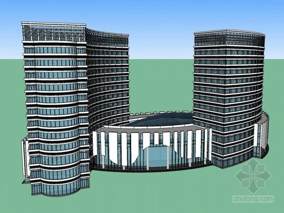酒店SketchUp模型下载