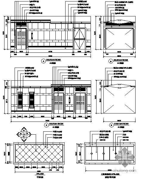 某电梯节点构造详图