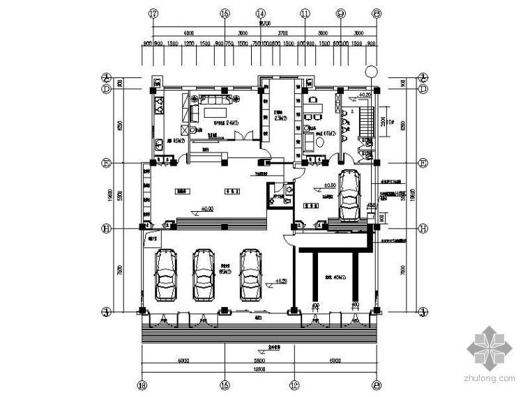 汽车服务中心平面图_1
