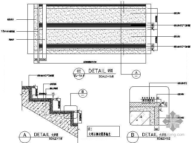 KTV大厅楼梯详图