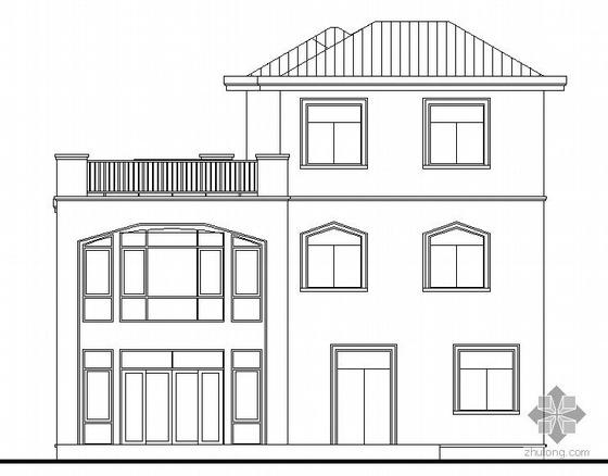 [东莞市]某豪园三期别墅区(A2型别墅)建筑结构水电施工图(含节能