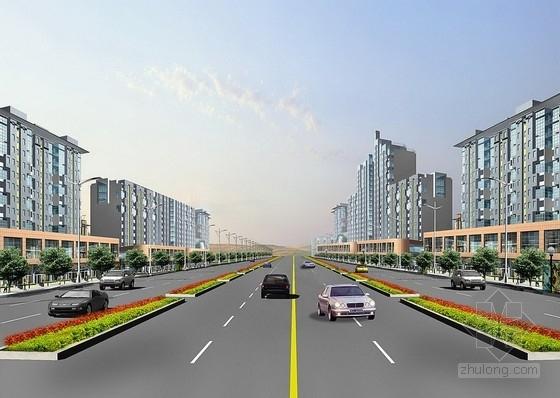 [安徽]开发区城市道路施工图设计(含排水工程)