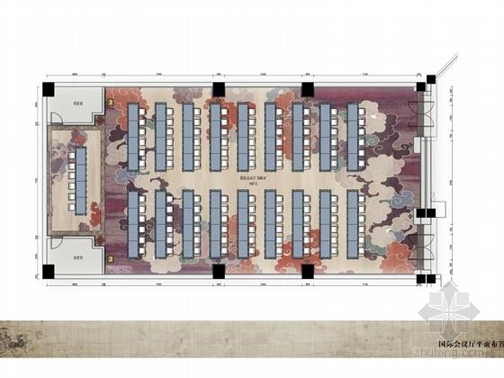 [四川]三国设计元素酒店宾馆改造设计方案(含效果图)