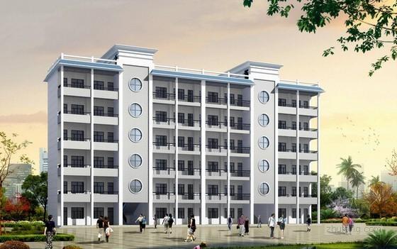 [湖南]2014年教学楼建筑及安装工程量清单计价实例(附图纸)