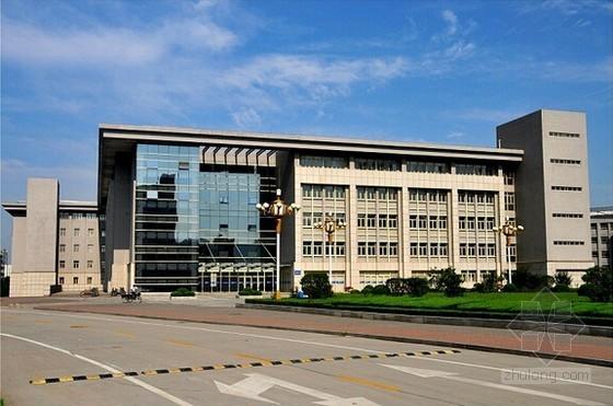 [安徽]教学楼及宿舍楼建安工程预算书(附施工图纸 软件文件)