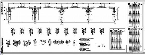 重庆某公司钢结构工程图纸