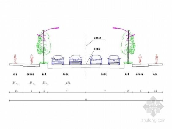 [安徽]城市支路交通标志施工图设计