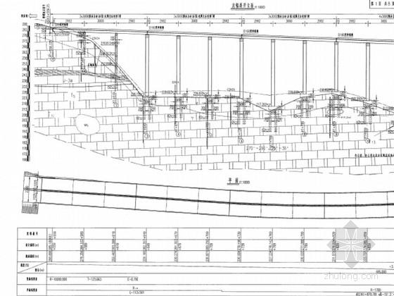[湖北]40X30m先简支后结构连续后张预应力T梁桥施工图159页(空心薄壁墩 桥宽23m)