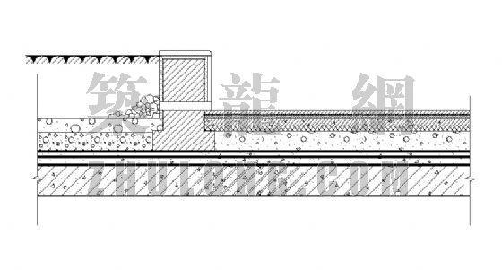 花坛剖面详图(1)