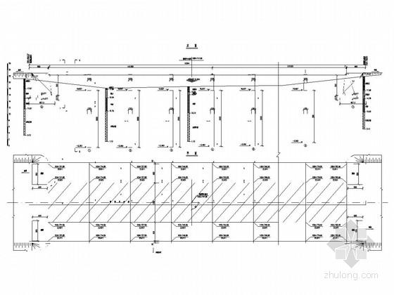 7x13m钢筋混凝土板桥全桥施工图(19张)