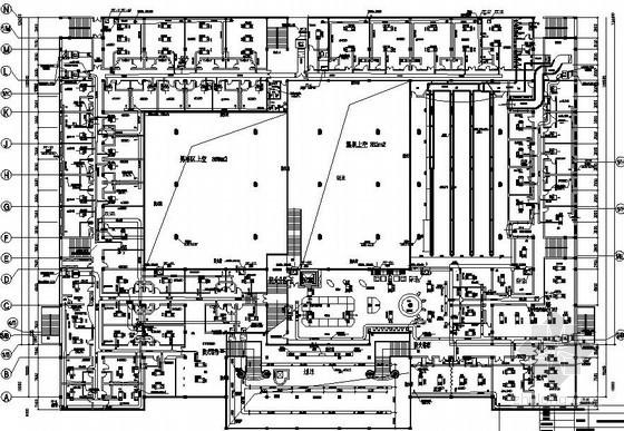 北京某国际会馆空调平面图