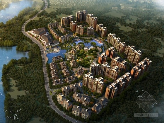 [四川]欧式风格住宅区规划及单体设计方案文本