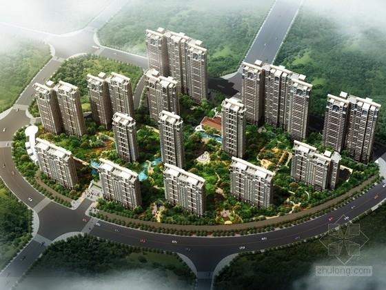 [湖南]现代风格住宅区规划及单体设计方案文本(含cad)