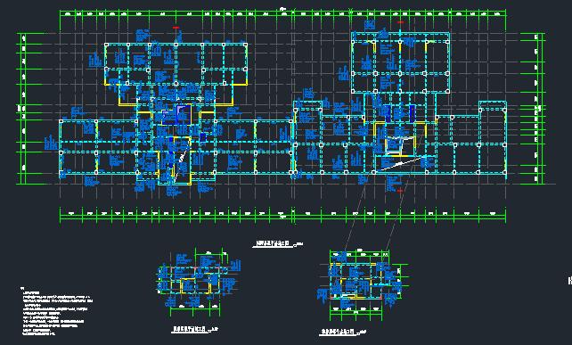 地上22层地下4层桩基础框架剪力墙住宅楼结构施工图_11