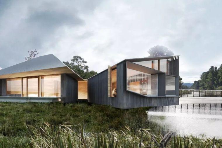 创意十足的顶级度假山庄设计,现代、自然、大气!_4
