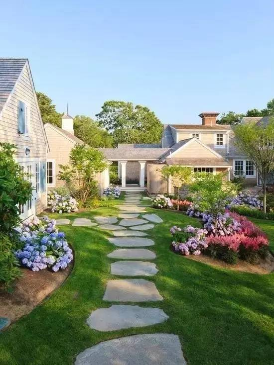 庭院路面,如何铺装才更好看?