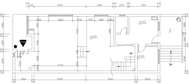 万科四季城三层别墅施工图设计