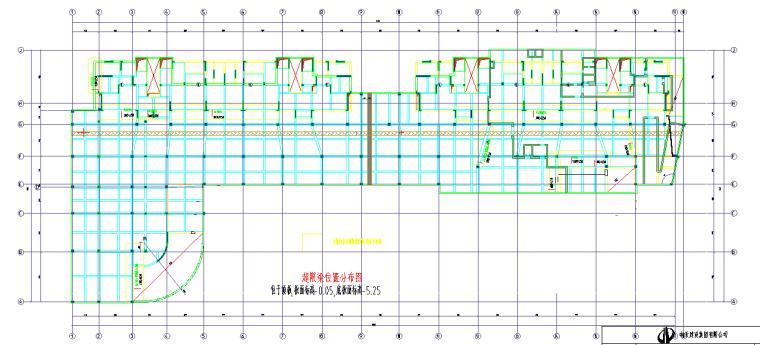 [宁波]高层住宅项目高大支模架专项施工方案(145页)含计算书图纸-21超限梁位置分布图