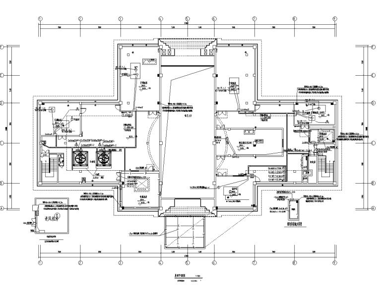 四川大型住宅小区及配套商业电气施工图