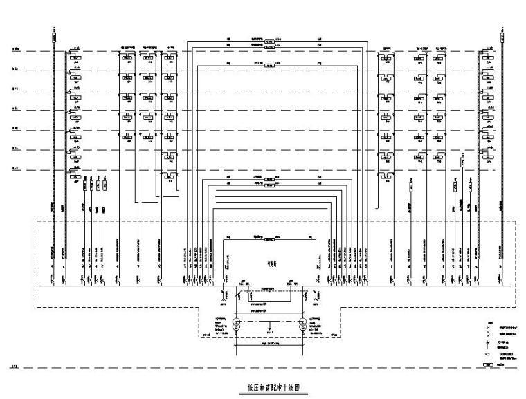 深圳大型综合办公楼项目电气施工图