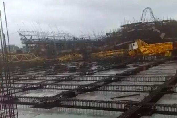 2死10伤!安徽一在建工地发生重大事故、三台塔吊同时倒塌!