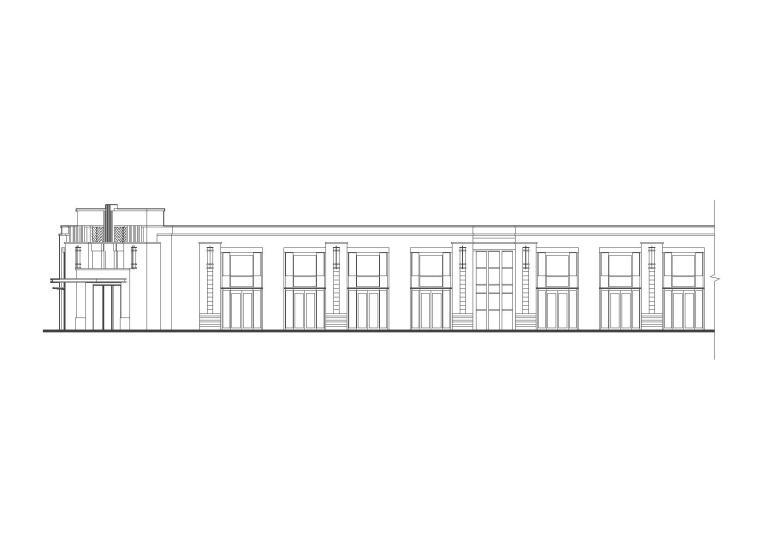 [浙江]温州宏源国际居住区建筑施工图设计(CAD)