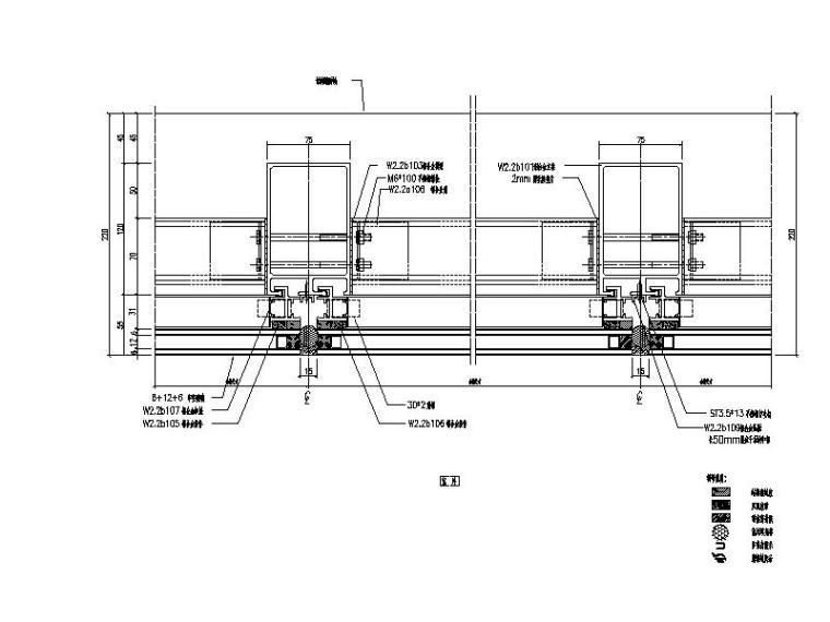 21款室外幕墙结构节点详图(CAD)