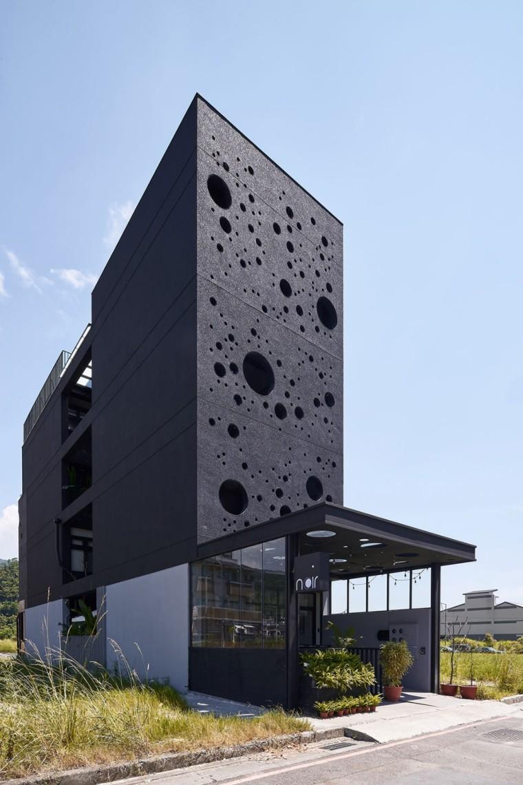 """将""""气泡""""转化为室内外的设计元素,台湾宜兰""""石光点之家"""""""