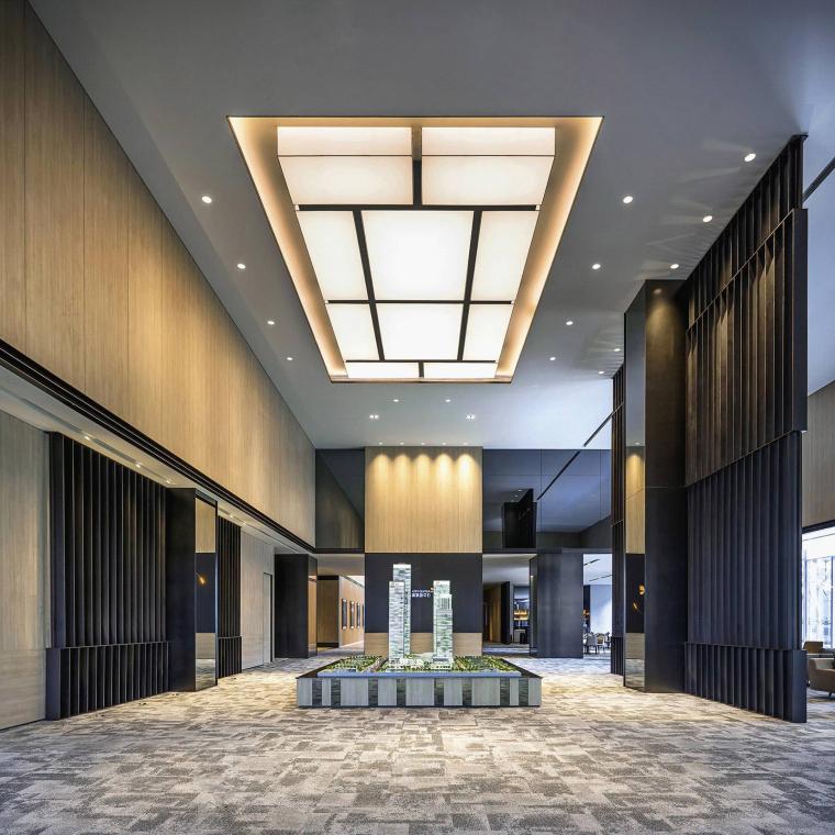 知名地产前海售楼处设计施工图(附效果图+物料清单+软装方案)-13
