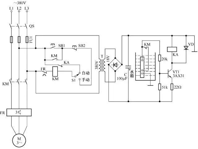 [电气分享]电气自动控制电路图实例精选,快收藏!_28