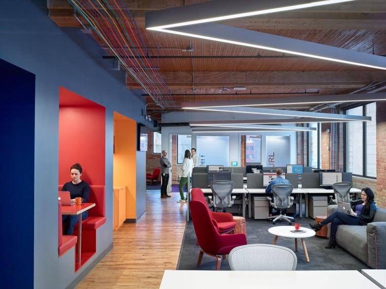 Slack 多伦多新办公楼/ Dubbeldam Architecture + Design