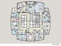 香港设计-河北省某会所式财务办公室设计效果图