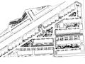 大型楼盘居住区园林景观施工图(含:景墙,水池,亭子施工图)