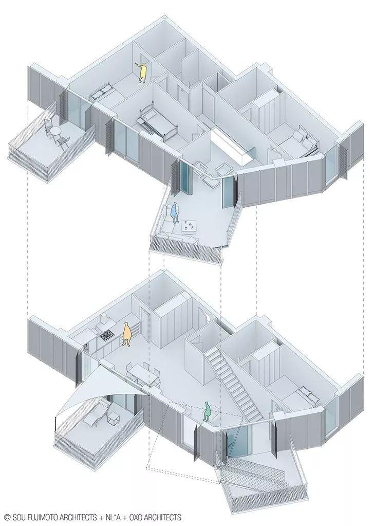 """藤本壮介设计的像树一样的公寓楼建成了,每户都有""""空中花园""""_30"""