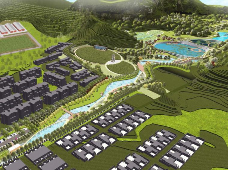 [重庆]巴月莊·生态农业公园景观概念设计(PDF+44页)