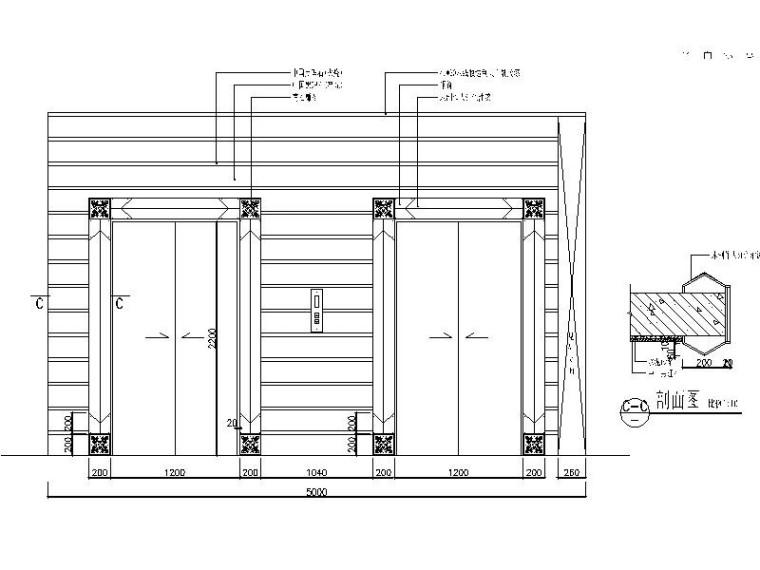 精装休闲娱乐主题酒店室内设计施工图_3