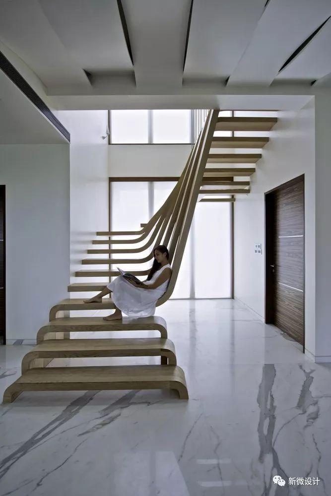 很有设计感的楼梯设计