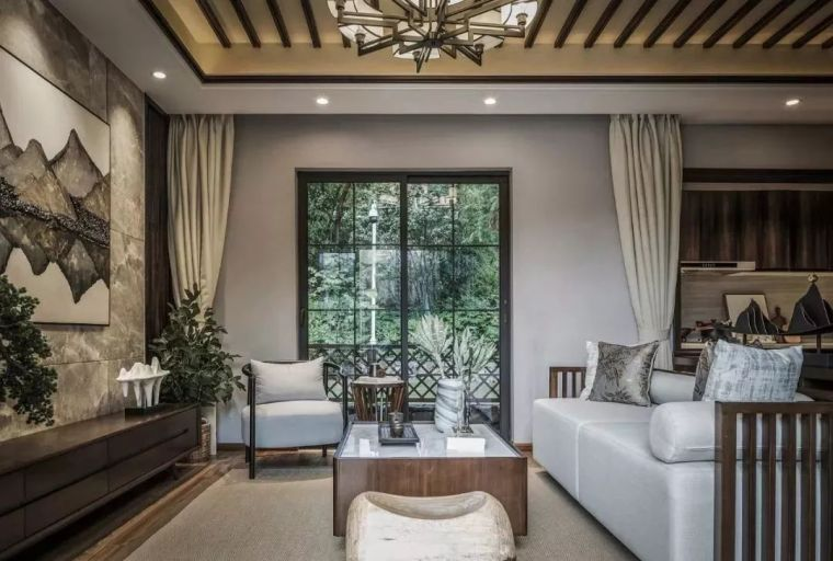 生态野趣+现代轻奢,养老房也可以被设计得如此精致